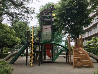 【加茂宮公園】ステラタウン近くの、大きい遊具が楽しい小さな公園