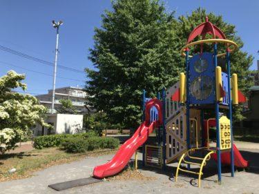 【東植竹公園|さいたま市北区】藤棚とアジサイのきれいな「通称 ロケット公園」