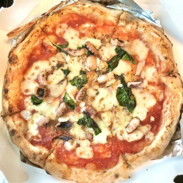 【ピザ】日進の「トリトン ピッツァ(TRITON PIZZA)」薪窯で焼くマルゲリータが美味しいから週一で食べたい