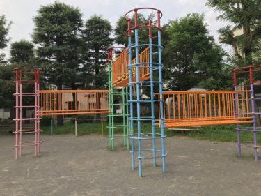 【日進公園|さいたま市北区】遊具あり・広くて整備されたイオン大宮近くの公園