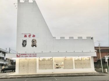 宮原にペットショップ「ペットフォーラムあざみ 宮原店」が11/28オープン!