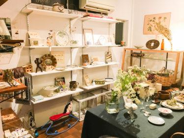 大宮のヨーロッパ雑貨屋「rytas(リータス)」可愛い古雑貨・ハンドクラフトのあるお店