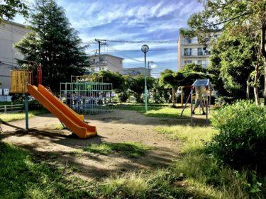 【今羽町団地中央公園|さいたま市北区】今羽町で一番遊具のある公園