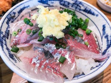 大宮市場「活あじ丼 内浦」で絶品アジフライと鯵丼を食らう!魚がしてんぷらといさば寿司の系列店