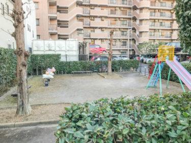 【大成4丁目西公園|さいたま市北区】「ソフィア大宮日進」目の前の小さな公園