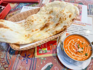 東宮原の人気インドカレー屋「 ダナパニ」のランチで巨大ナンと本格カレーに満腹、満足!