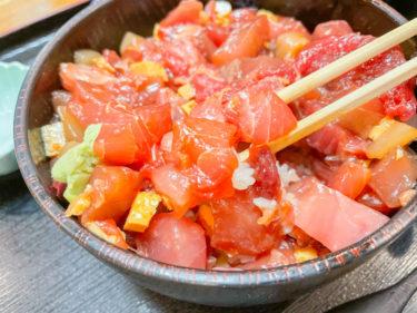 東大宮のデカ盛りで有名な「玄界寿司」でランチ!ばらちらし丼を食らう