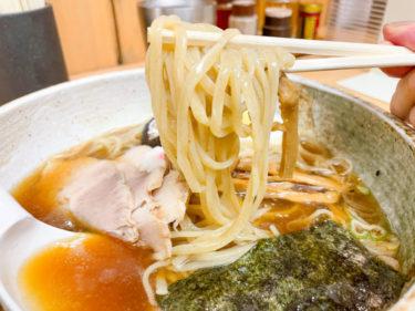 【夏限定】大宮大勝軒の冷たい煮干しそばが、暑い日に最高すぎる