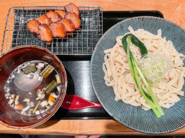 大宮「武蔵野うどん まるう 」の炙り黒豚肉汁うどんが美味い!埼玉県産にこだわったお店